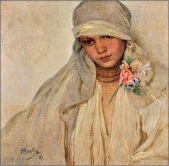 The Bride | Alfons Mucha | Oil Painting