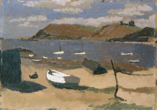 Carmarthen Bay | Edward Morland Lewis | Oil Painting