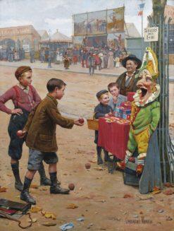 Au plus adroit | Paul-Charles Chocarne-Moreau | Oil Painting