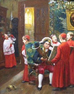 Final Dress Rehearsal | Paul-Charles Chocarne-Moreau | Oil Painting