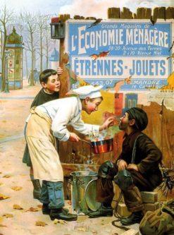 L'Economie Menagere | Paul-Charles Chocarne-Moreau | Oil Painting