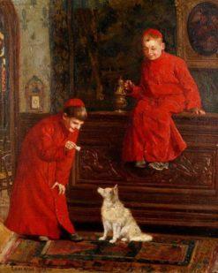 Altar Boys | Paul-Charles Chocarne-Moreau | Oil Painting