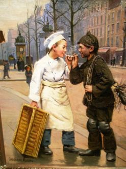 Baker's Boy and Chimney Sweep | Paul-Charles Chocarne-Moreau | Oil Painting