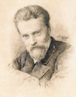 Self-Portrait   Vladimir Yegorovich Makovsky   Oil Painting