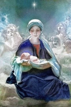 Star of Bethlehem | Bruno Piglhein | Oil Painting