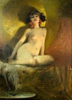 Oriental beauty | Bruno Piglhein | Oil Painting