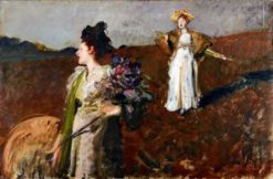 The Promenade | Bruno Piglhein | Oil Painting