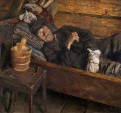 Wound Fever (also known as Haavakuume) | Akseli Gallen-Kallela | Oil Painting