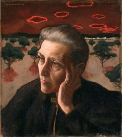 The Artist's Mother (also known as Konstnärens moder) | Akseli Gallen-Kallela | Oil Painting