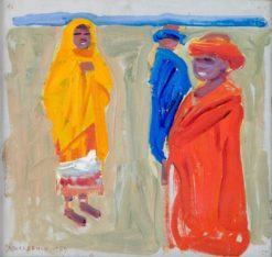 Nandi Tribe (also known as Nandi-heimoa)   Akseli Gallen-Kallela   Oil Painting