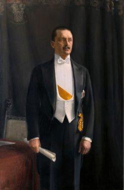 Portrait of Carl Gustaf Emil Mannerheim (also known as Carl Gustaf Emil Mannerheimin muotokuva)   Akseli Gallen-Kallela   Oil Painting