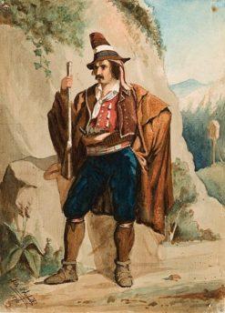 Italian Rogue (also known as Italialainen rosvo) | Albert Edelfelt | Oil Painting