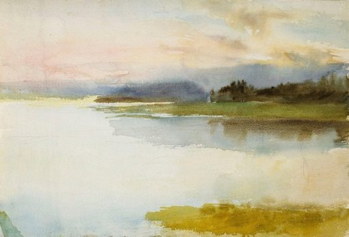 Seashore in the Evening (also known as Landscape