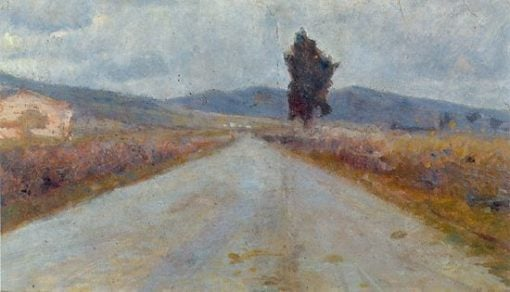 Tuscan Road (also known as La route toscane) | Amedeo Modigliani | Oil Painting