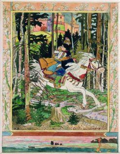 Fairy Tale | Ivan Yakovlevich Bilibin | Oil Painting