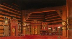 "Set Design for the Opera ""The Tsar's Bride"" by Nikolai Rimsky-Korsakov"