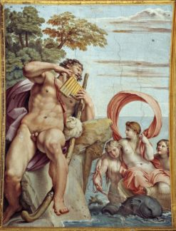 Polyphemus and Galatea (also known as Polyphemus in Love) | Annibale Carracci | Oil Painting