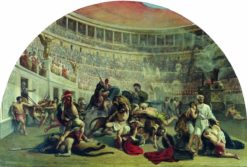 Saint Eustace in the Colosseum | Alexei Markov | Oil Painting