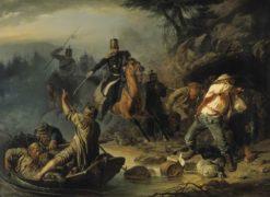 Finnish Smugglers | Vasily Khudyakov | Oil Painting