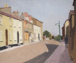 Pembroke Houses | Edward Morland Lewis | Oil Painting