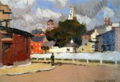 Shandon Church | Edward Morland Lewis | Oil Painting
