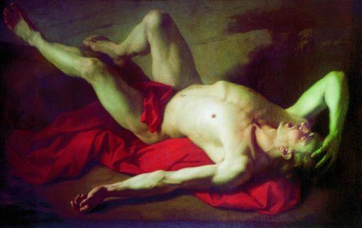 Abel   Anton Losenko   Oil Painting