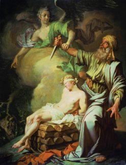 The Sacrifice of Isaac | Anton Losenko | Oil Painting