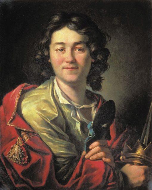 Portrait of Actor Fedor Volkov | Anton Losenko | Oil Painting