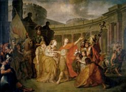 Farewell of Hector and Andromache | Anton Losenko | Oil Painting