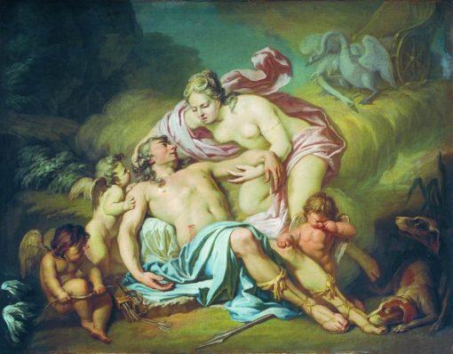 The Death of Adonis | Anton Losenko | Oil Painting