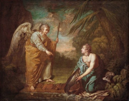 Tobias and Angel | Anton Losenko | Oil Painting