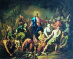 The Miracle of the Fish | Anton Losenko | Oil Painting