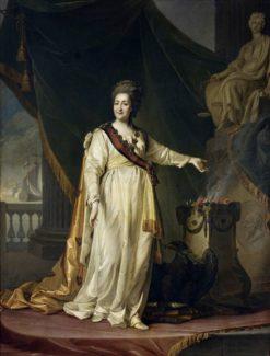 Portrait of Catherine II | Dmitry Levitsky | Oil Painting