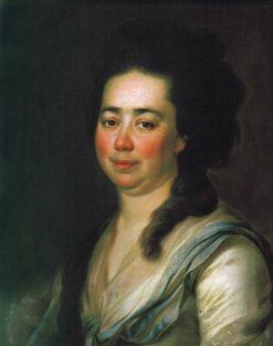 Portrait of Ekaterina Bakunina | Dmitry Levitsky | Oil Painting