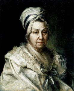Portrait of I.A. Vasilieva | Dmitry Levitsky | Oil Painting