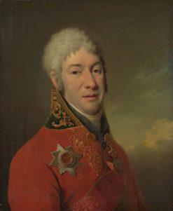 Portrait of I.V. Lopukhin | Dmitry Levitsky | Oil Painting
