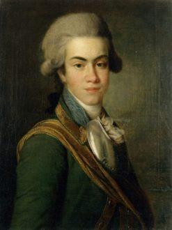 Portrait of Prince I.M. Dolgorukov | Dmitry Levitsky | Oil Painting