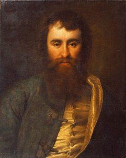 Portrait of Merchant Andrei Borisov | Dmitry Levitsky | Oil Painting