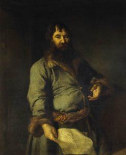 Portrait of Nikifor Sezemov | Dmitry Levitsky | Oil Painting