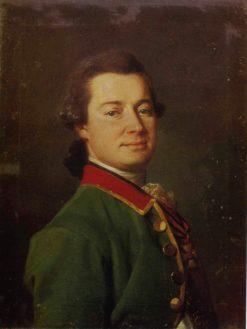 Portrait of Colonel Palmenbach | Dmitry Levitsky | Oil Painting