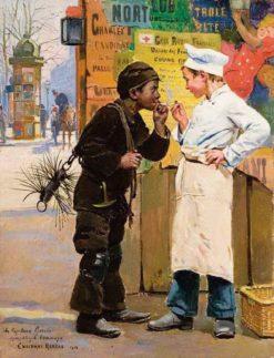Les petits métiers | Paul-Charles Chocarne-Moreau | Oil Painting