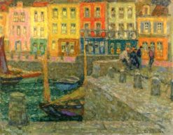 The Pierhead (also known as Le musoir) | Henri Le Sidaner | Oil Painting