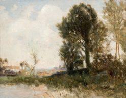 Swedish Landscape | Gustaf Rydberg | Oil Painting