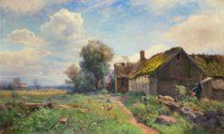 Billingestugan   Gustaf Rydberg   Oil Painting
