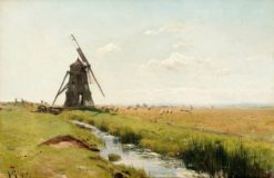 Mill on the Plain | Gustaf Rydberg | Oil Painting