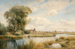 Landscape | Gustaf Rydberg | Oil Painting