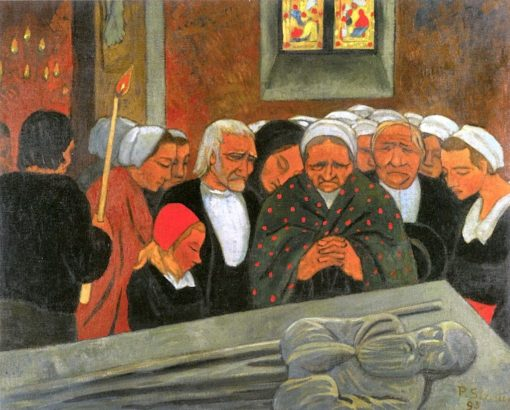 Devotion to St. Herbot (also known as Forgiveness) | Paul Sérusier | Oil Painting