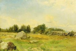 Rocky hill   Gustaf Rydberg   Oil Painting