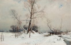 Winter Landscape | Gustaf Rydberg | Oil Painting