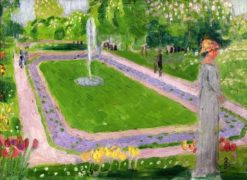 The Public Garden | Maurice Denis | Oil Painting